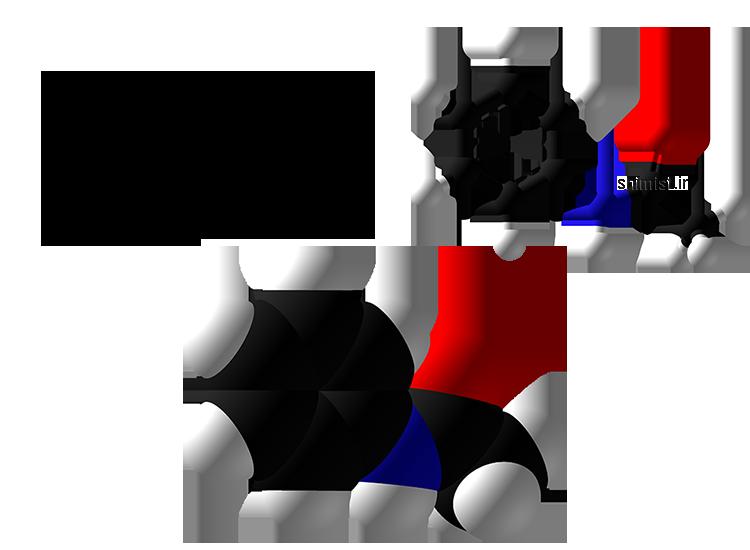 ساختار مولکولی، گوی و میله و فضا پر کن استانیلید